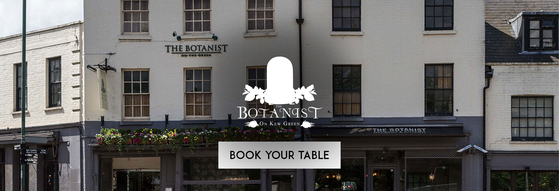 Book Your Table at The Botanist